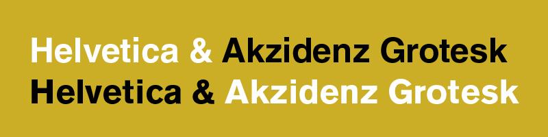 Akzidenz by MartinSilvertant