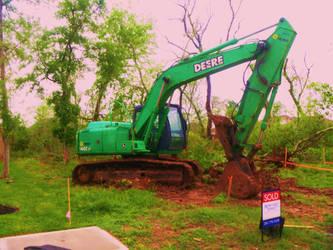 A Deere Excavator by SwiftWindSpirit