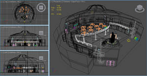 Shopping Centre - Wireframe