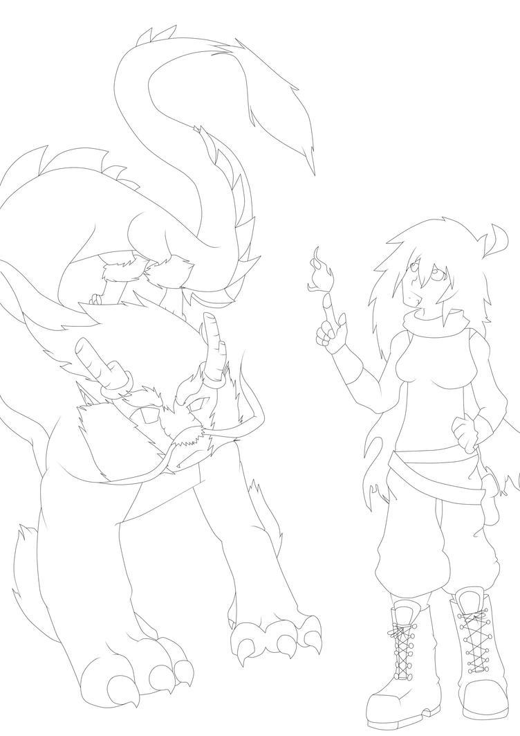 Line Art Help : Yang myth au line art by help me hitsu on deviantart