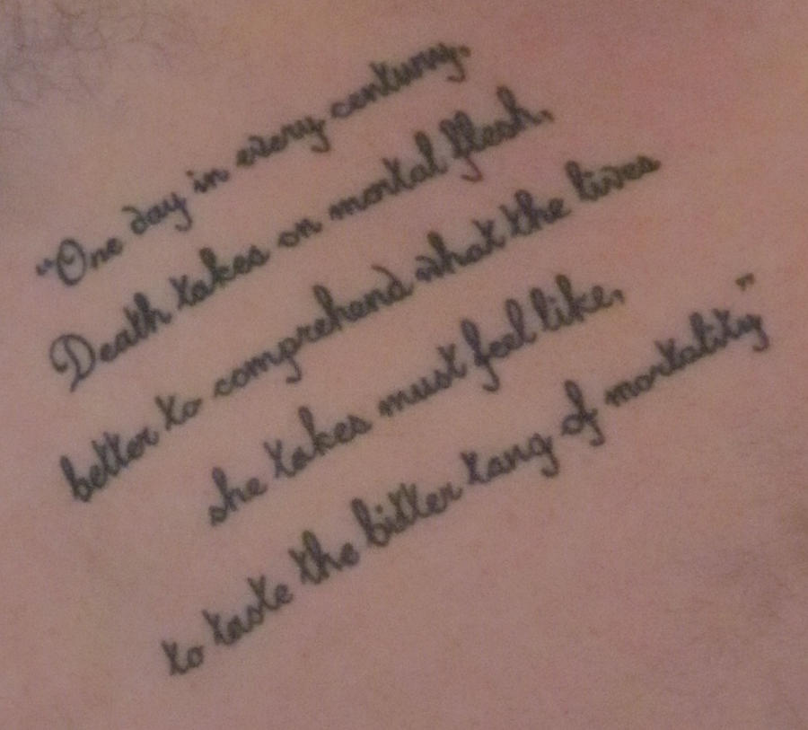 Quotes About Losing A Loved One Tattoo Tattoo Quotes F...