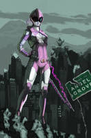 The Pink Ranger by nbashowtimeonnbc