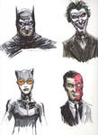 Bat Sketches