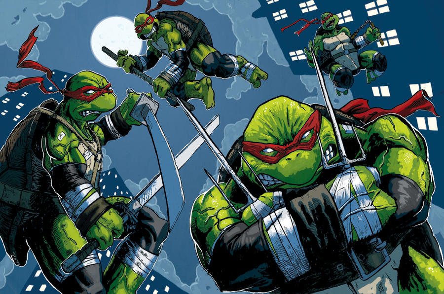 TMNT Turtle Power by nbashowtimeonnbc