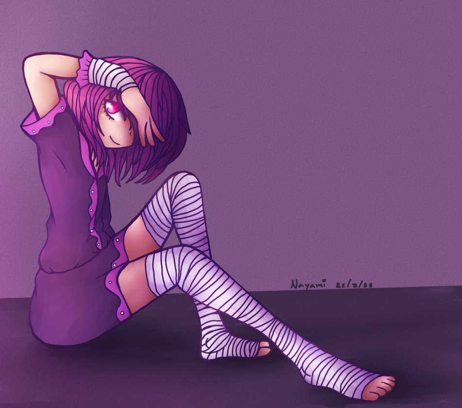 [Image: girl_purple_bandage_by_mokuzaisad-d926zb0.png]