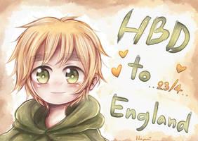 [Hetalia] HBD! Chibi England by MoKuZaiSad