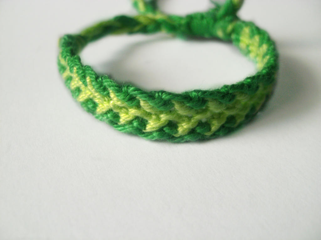 green dragon tail bracelet by positivelyrainbow on deviantart