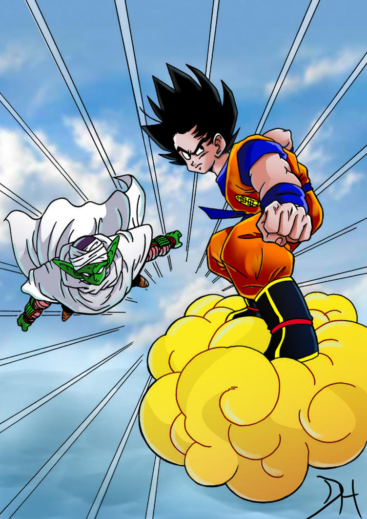 Dragon Ball Z by nibiruswolf
