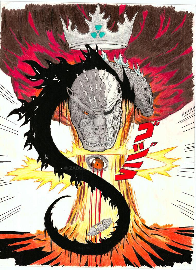Godzilla 1954 Tribute by Zadom