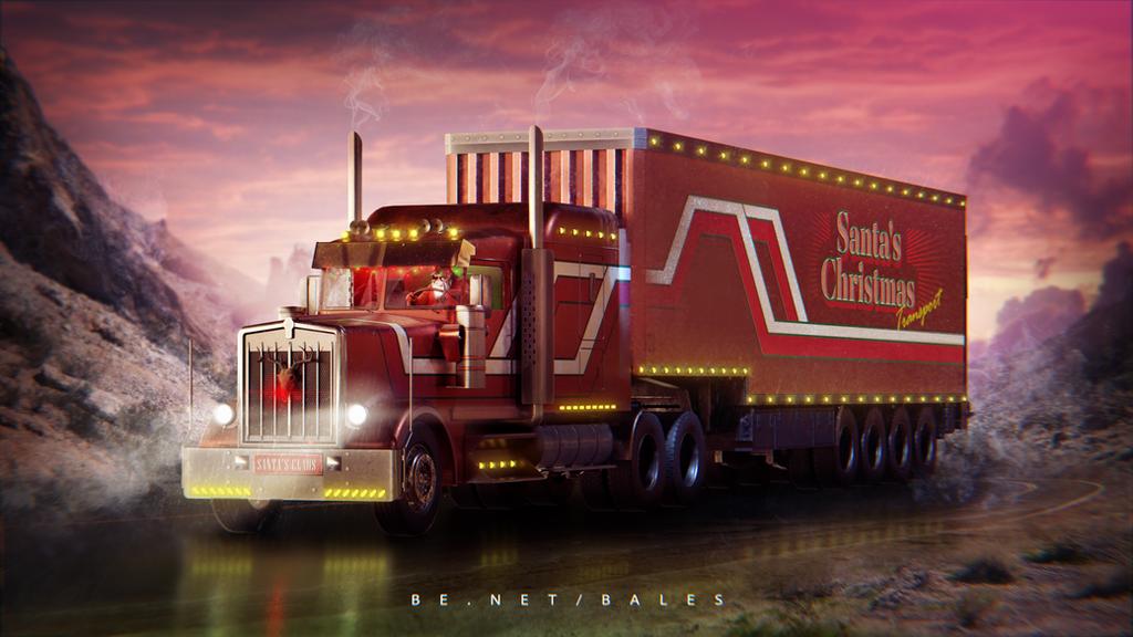 The Santa's Badass by blenderandre