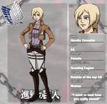 charactersheet: amelia chevalier