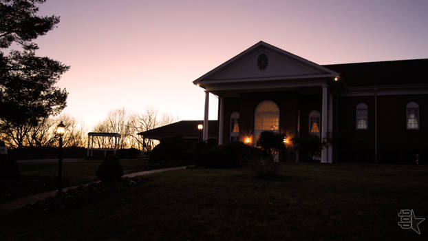 Dusk at the Country Club