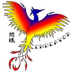 Phoenix Toukon/Endeavor Tattoo Design