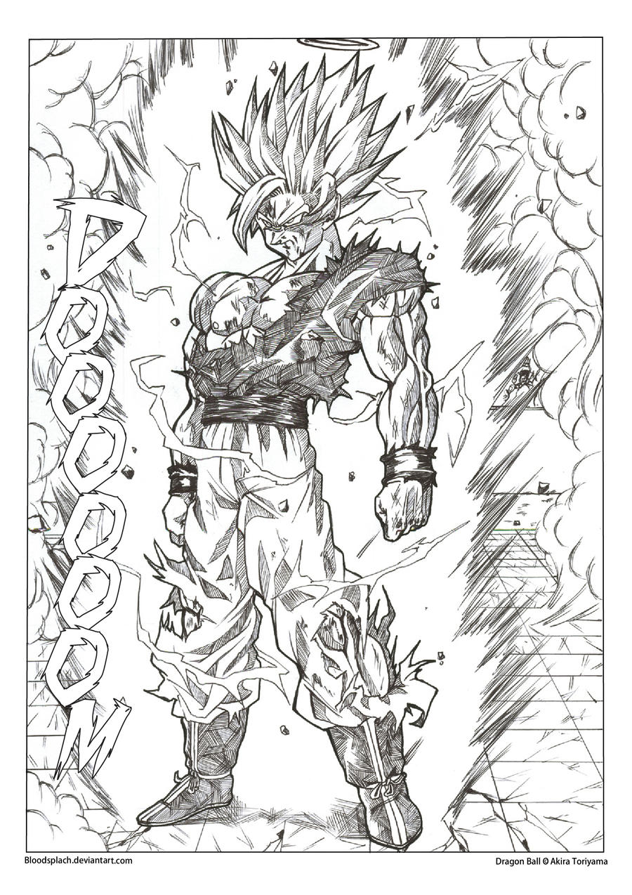 Nett Super Saiyan Goku Malvorlagen Zeitgenössisch - Entry Level ...