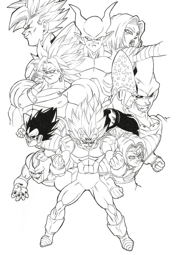 The Villains Ultimate Team By Bloodsplach