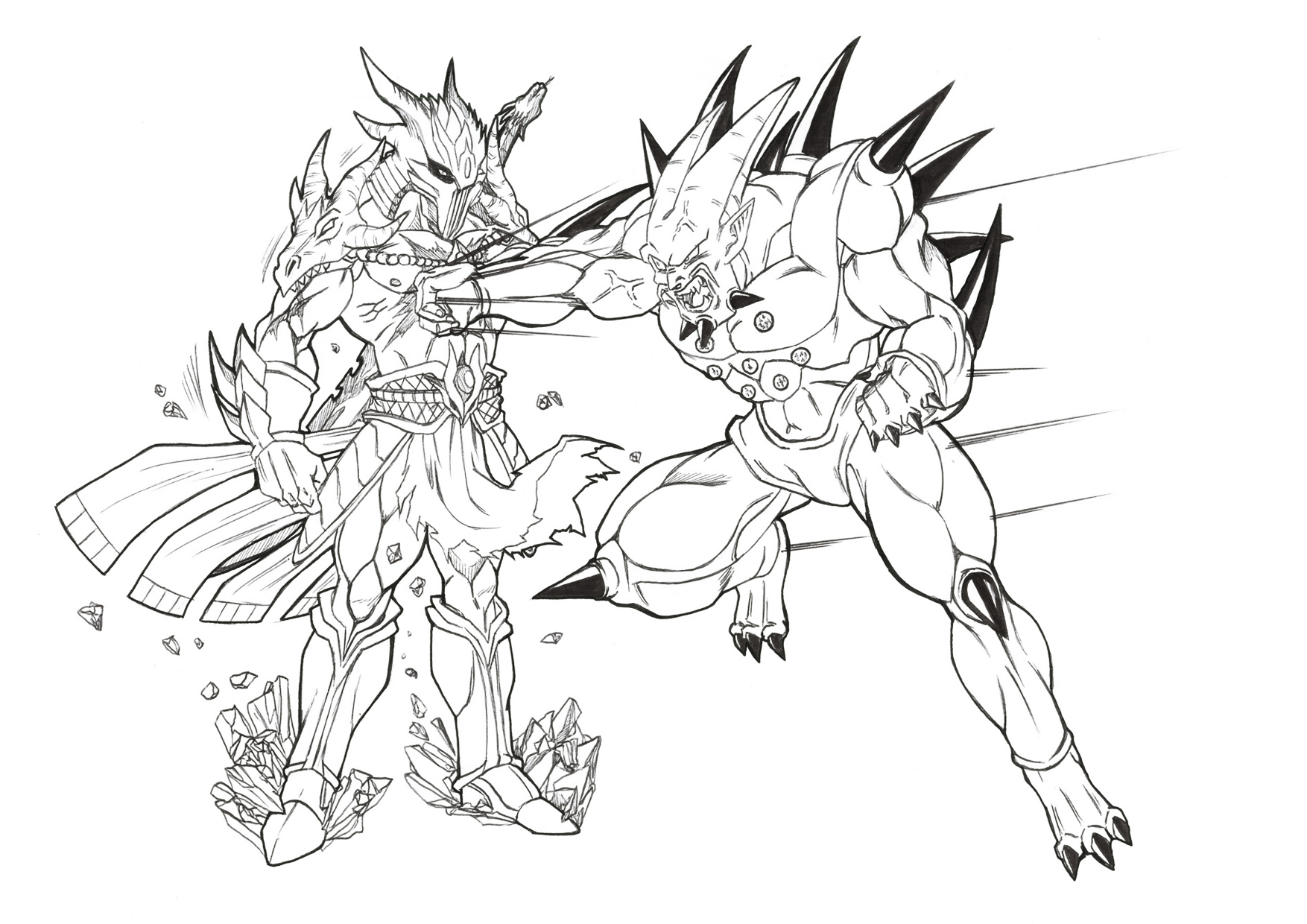Similiar Drawings Of Dragon Ball Z Omega Shenron Keywords