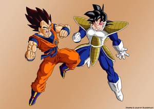 Goku vs Vegeta ex cloth