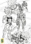 Saiyajin's VS Mirai Cell