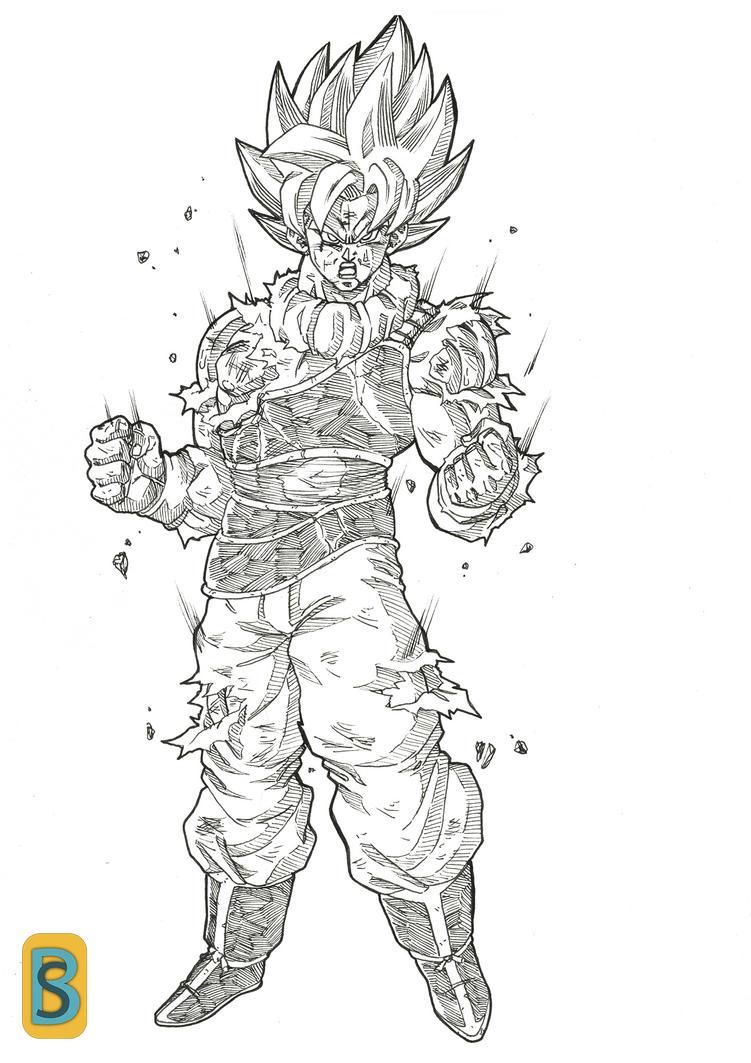 Goku Yardrat by bloodsplach