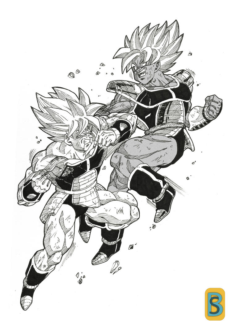 Turles Vs Kakarot by bloodsplach