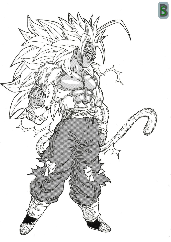 Evil Goku ssj5