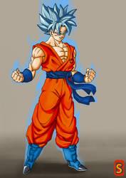 SsjgsS Goku by Blood-Splach