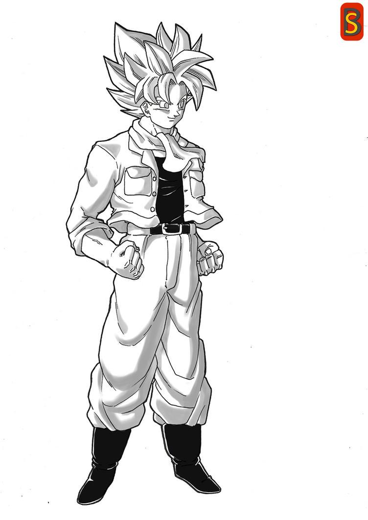 Super Farmer Goku by bloodsplach