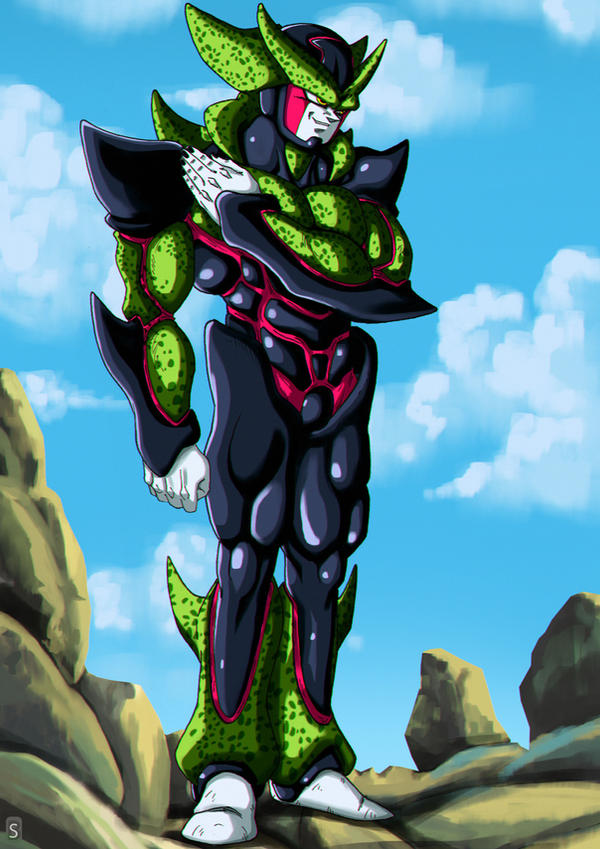 Hyper Perfect Cell by bloodsplach on DeviantArt
