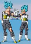 Goku-Vegeta 3Y Training