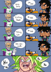 Bad Bad Broly XD by Blood-Splach