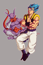 Gogeta and Janemba DBFighterz
