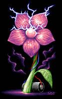 Tesla flower by FrostTLU