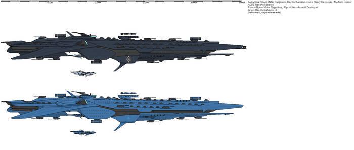 Auz-Sapphi. Reconciliationis-class AA Cruiser