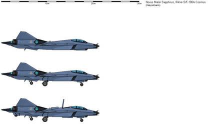 SFA-190 Cosmus Interceptor Fighter
