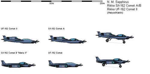 SI-162 Comet Space-Air Superiority Variants