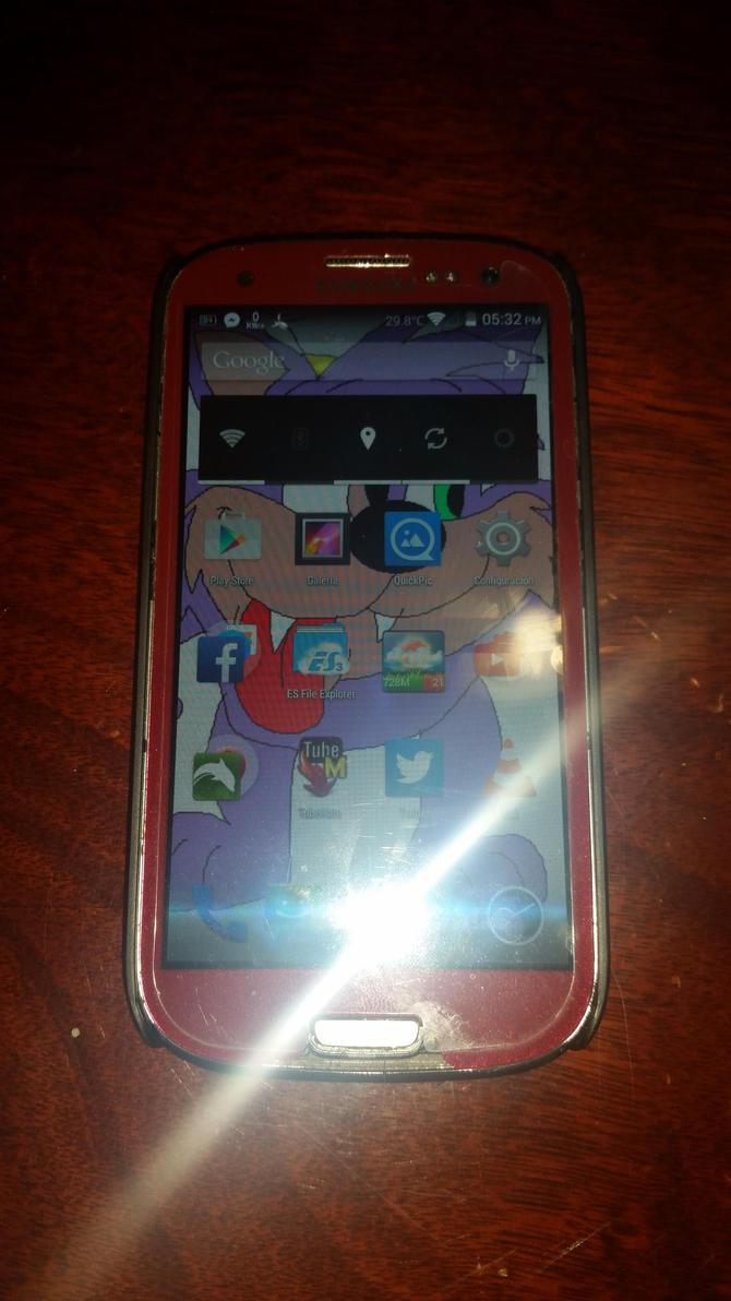 Samsung Galaxy S3 (SGH-I747M) by DarwinMKRocketMonkey
