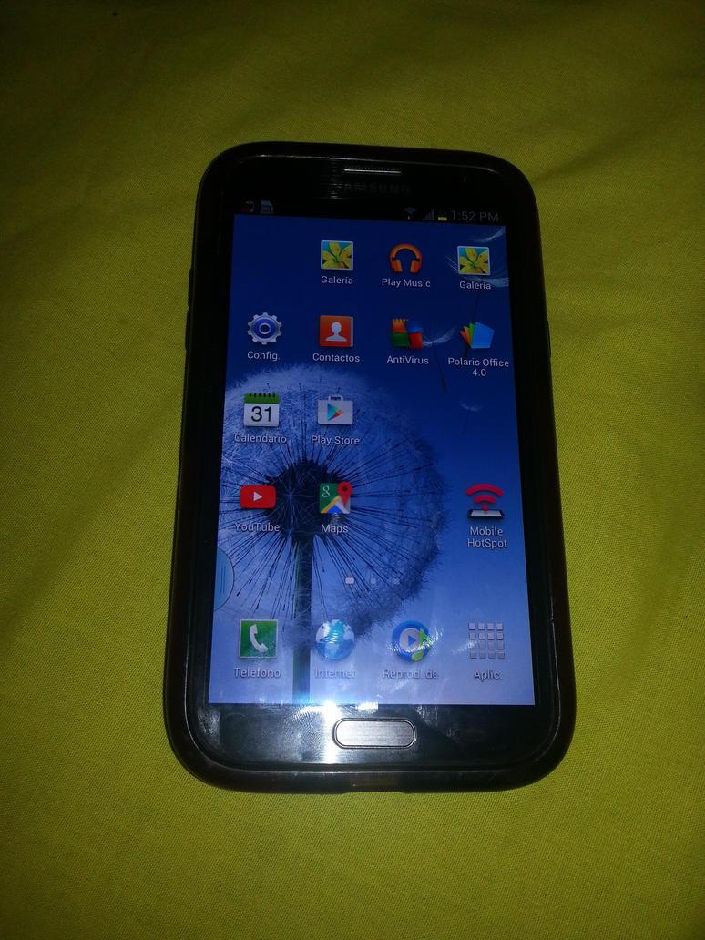 Samsung Galaxy Note II by Richard-Devil