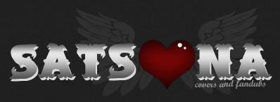 Satsuna Covers y Fandubs logo (black ver.) by dorremichi