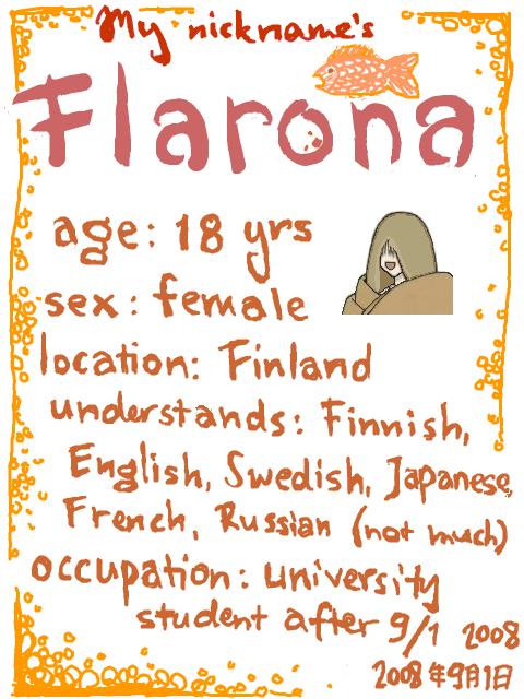 Flarona's Profile Picture