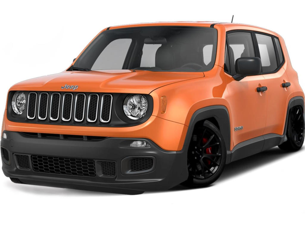 Hellcat Jeep Renegade Rendering by djthumper1
