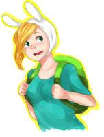Adventure Time - Fionna by Nani-Mi