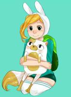 Fionna and Cake by Nani-Mi