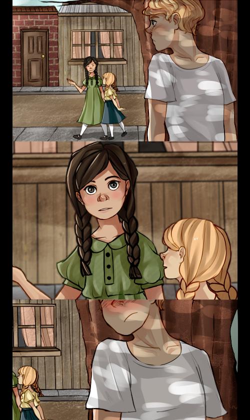 Peeta, Katniss and Prim by Nani-Mi on DeviantArt  Katniss And Peeta Fan Art Love