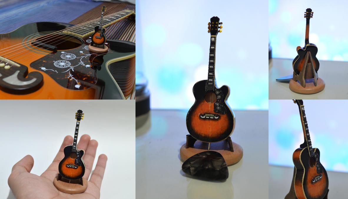 Guitar Miniature by X4zeroE6