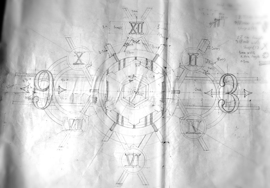 Clock (WIP) Blueprint by X4zeroE6