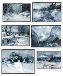 Landscape Studies by AnaviTil