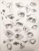 Eyes Studies by AnaviTil