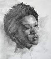 Portrait sketch by AnaviTil