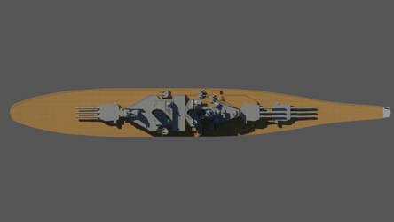 USS Missouri Top by Gnougnou