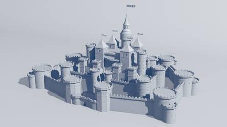The Castle by Gnougnou
